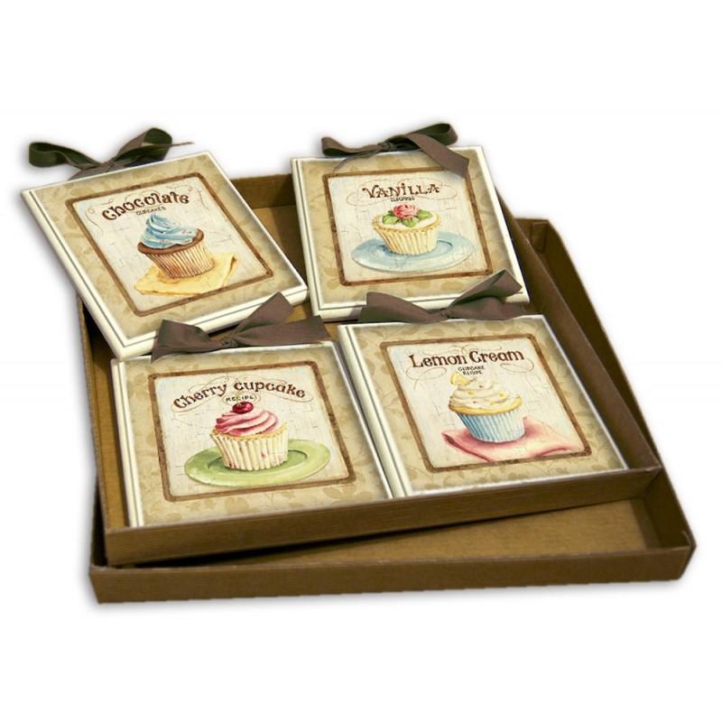 Idea regalo set quadretti shabby chic country arredamenti for Arredamenti in regalo