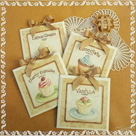 Dea regalo set quadretti shabby chic country arredamenti for Regalo mobili cucina