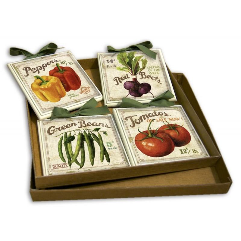 Dea regalo set quadretti shabby chic country arredamenti for Arredamenti in regalo