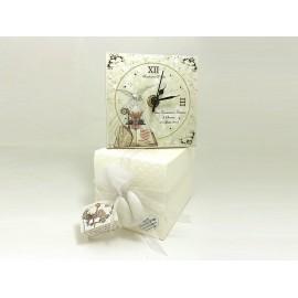 Bomboniera cresima e comunione, orologio personalizzato