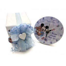 Battesimo bomboniere topolino orologio personalizzato