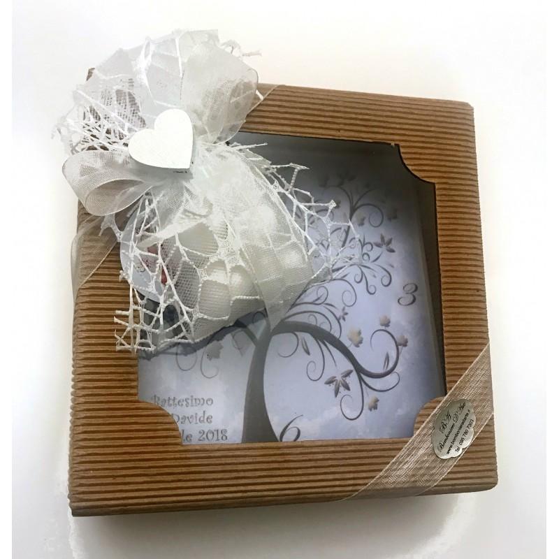 Bomboniera orologio da tavolo regalo per testimoni e for Regalo tavolo milano
